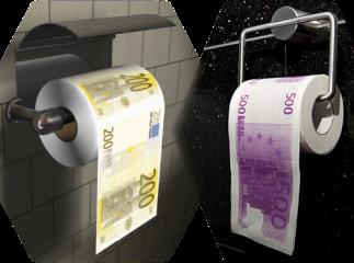 EZB-Toilettenpapier