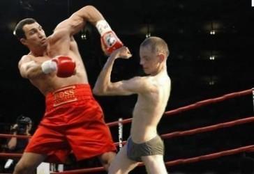 Klitschko wieder im Ring