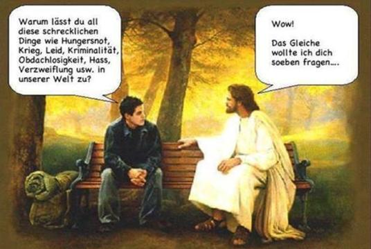 Gott-warum er das zuläßt