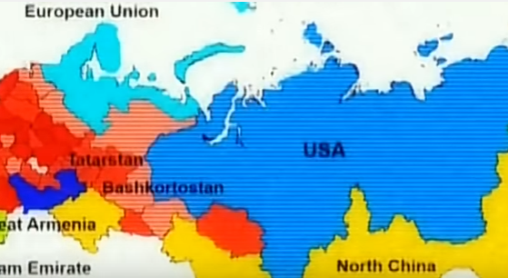 Карта Сибири 6