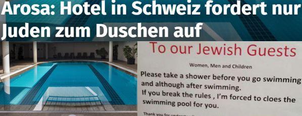 Juden duschen