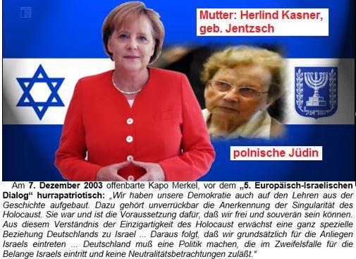 Merkel Jüdin +