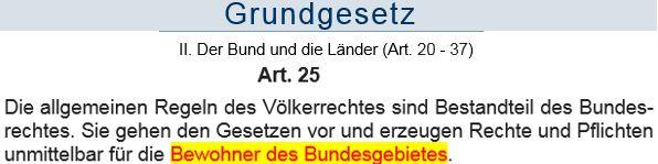 GG Art. 25